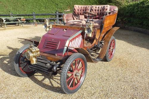 1901 A very original VCC dated two cylinder Brighton car For Sale (picture 1 of 6)