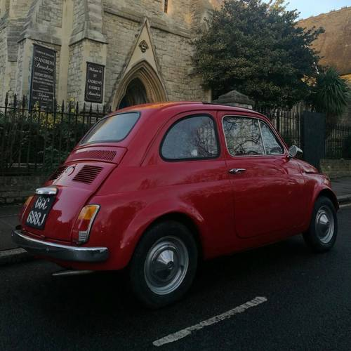 1970 The best selection of classic Fiat 500s in the UK For Sale (picture 3 of 6)