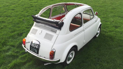 1970 The best selection of classic Fiat 500s in the UK For Sale (picture 4 of 6)