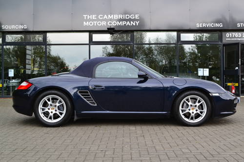 2006 PORSCHE BOXSTER 2.7 6 SPEED FSH, LOW MILES SOLD (picture 2 of 6)