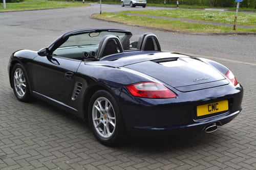 2006 PORSCHE BOXSTER 2.7 6 SPEED FSH, LOW MILES SOLD (picture 4 of 6)