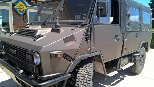1992 IVECO Military 4X4 Nut and Bolt Restored 7 passenger vehicle For Sale (picture 6 of 6)
