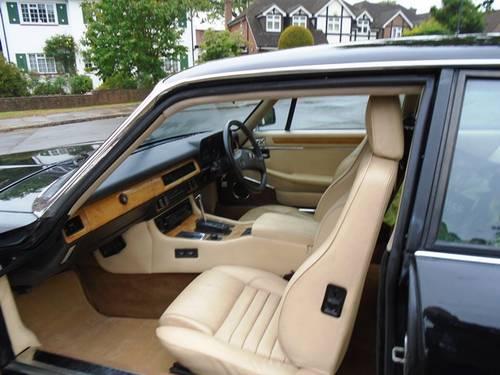 Jaguar XJS 3.6 Auto 1989 F Reg Black  Stunning SOLD (picture 3 of 6)