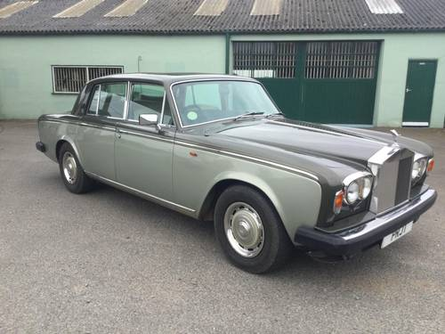 Rolls Royce Silver Shadow 2 1979  Stunning  50680 Miles SOLD (picture 1 of 6)