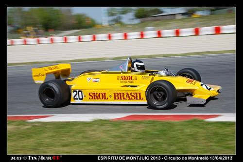 1981 Fittipaldi F8/04 DFV F1 Car For Sale (picture 1 of 2)