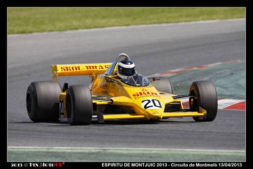 1981 Fittipaldi F8/04 DFV F1 Car For Sale (picture 2 of 2)