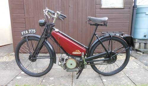 1941 NORMAN AUTOCYCLE 98cc for auction June 17th SOLD by Auction (picture 2 of 3)