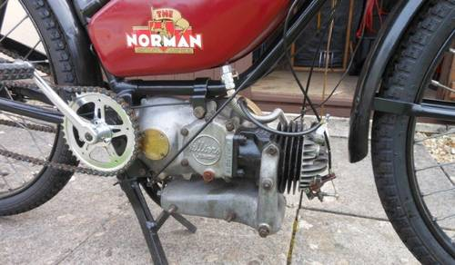 1941 NORMAN AUTOCYCLE 98cc for auction June 17th SOLD by Auction (picture 3 of 3)