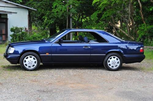 1995 Mercedes-Benz E320 Coupe 74,392 miles from new SOLD (picture 1 of 6)