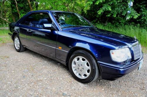 1995 Mercedes-Benz E320 Coupe 74,392 miles from new SOLD (picture 2 of 6)