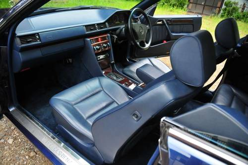 1995 Mercedes-Benz E320 Coupe 74,392 miles from new SOLD (picture 4 of 6)