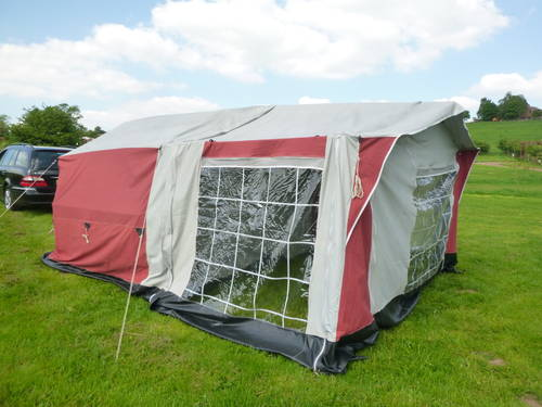 Classic trailer tent with awning Sunseeker PRICE DROP SOLD (picture 3 of 5)