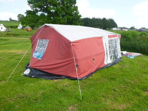Classic trailer tent with awning Sunseeker PRICE DROP SOLD (picture 4 of 5)