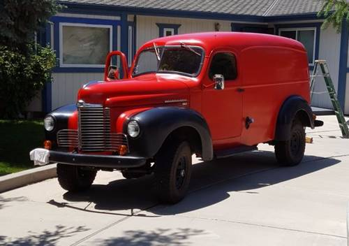 1946 1942-48 KB-2  International Panel Truck For Sale (picture 5 of 6)