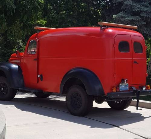 1946 1942-48 KB-2  International Panel Truck For Sale (picture 6 of 6)