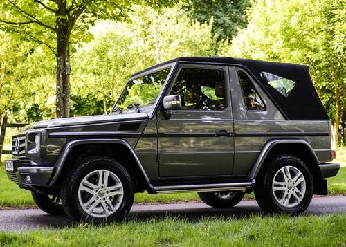2012 Mercedes-Benz G-Wagon 350 Cabriolet SOLD by Auction ...