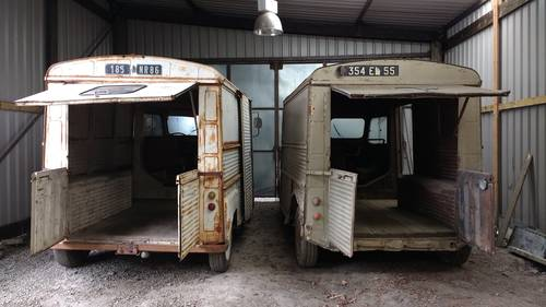 Citroen H Van - Solid early Splitscreen 1954. SOLD For Sale (picture 2 of 6)