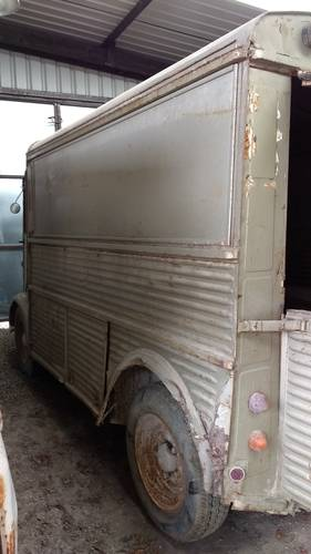 Citroen H Van - Solid early Splitscreen 1954. SOLD For Sale (picture 5 of 6)