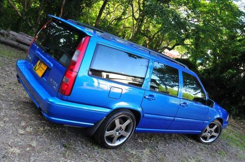 1999 Volvo V70R PH-3 AWD Lazor Blue 75,756 miles from new SOLD (picture 3 of 6)