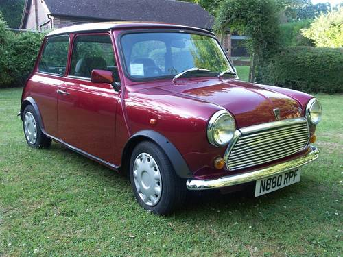 1996 Rover Mini Mayfair SOLD (picture 1 of 6)