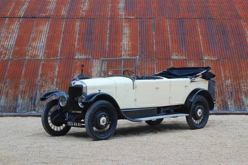 1924 Unic L3 Open Tourer SOLD (picture 1 of 6)