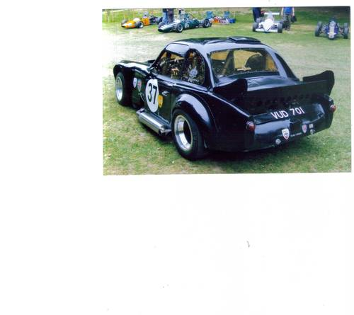 1963 Historic Ex John Miles Turner Sports Car VUD 701. For Sale (picture 4 of 6)