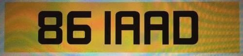 1950 861 AAD LAD 86 LAAD 8 GLAAD GLAD BGLAAD CHERISHED PLATE  For Sale (picture 2 of 3)