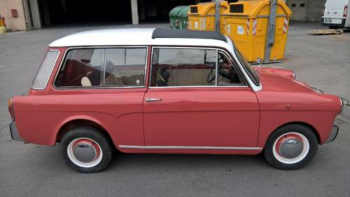 AUTOBIANCHI BIANCINA PANORAMICA 1E SERIE 1961    8950 EURO For Sale (picture 1 of 6)