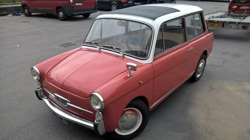 AUTOBIANCHI BIANCINA PANORAMICA 1E SERIE 1961 For Sale (picture 6 of 6)