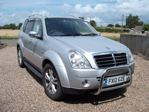 Ssangyong Rexton EX 2.7 RX270XDI 2012 Auto 7 Seats 45k Miles SOLD (picture 1 of 6)