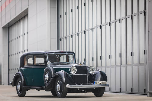 1933 Hispano-Suiza K6 - Limousine by VanVooren For Sale (picture 2 of 6)