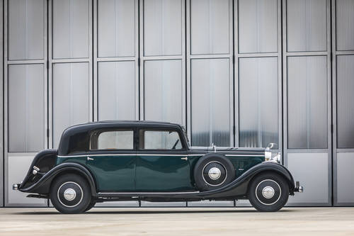 1933 Hispano-Suiza K6 - Limousine by VanVooren For Sale (picture 3 of 6)