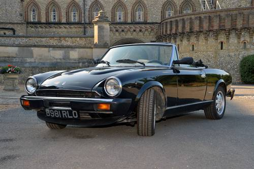 1984 Fiat 124 Spider (Pininfarina Europa) For Sale (picture 2 of 6)