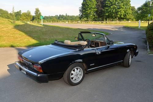 1984 Fiat 124 Spider (Pininfarina Europa) For Sale (picture 3 of 6)