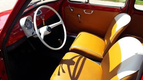 FIAT 500 F 1e SERIE 1965 COMPLETE RESTORED  SOLD (picture 4 of 6)