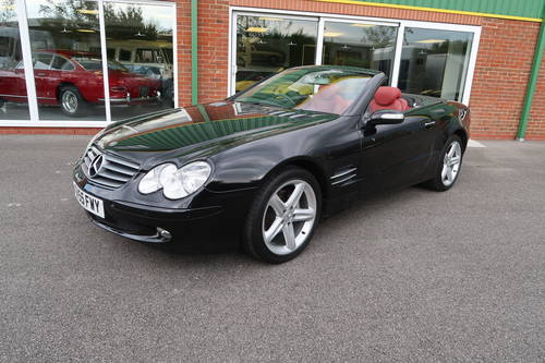 2005 Mercedes SL SL350 2dr Convertible panoramic roof SOLD (picture 1 of 6)