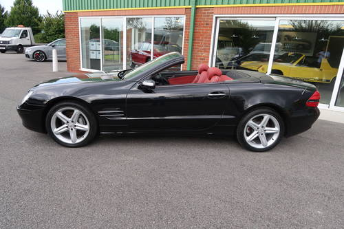 2005 Mercedes SL SL350 2dr Convertible panoramic roof SOLD (picture 2 of 6)