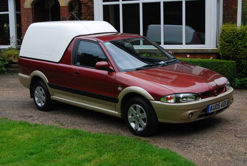 2005 Proton 1.5 gls jumbuck pick up 1 owner 28,000miles fsh SOLD (picture 1 of 6)