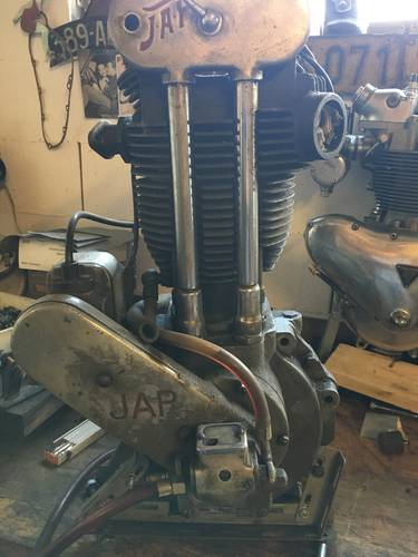 JAP RACING ENGINE 500 OHV 1930 For Sale (picture 1 of 6)