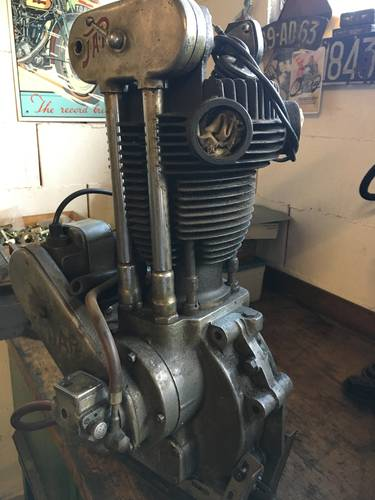 JAP RACING ENGINE 500 OHV 1930 For Sale (picture 2 of 6)