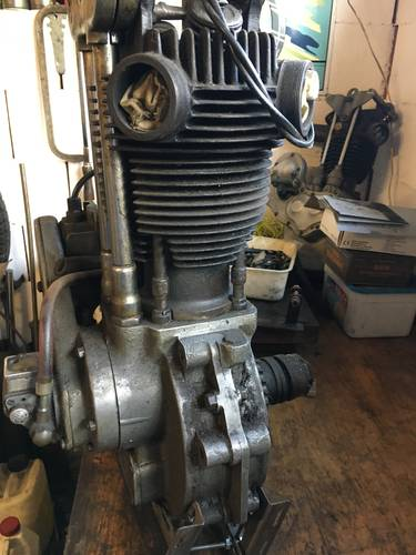 JAP RACING ENGINE 500 OHV 1930 For Sale (picture 3 of 6)