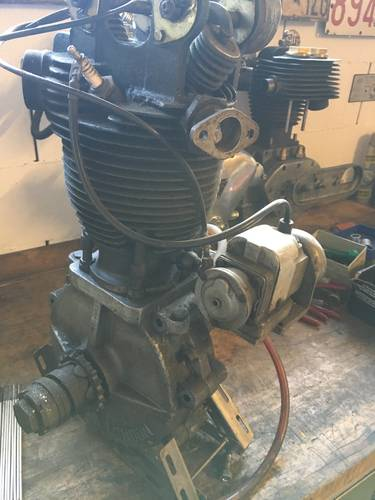 JAP RACING ENGINE 500 OHV 1930 For Sale (picture 5 of 6)