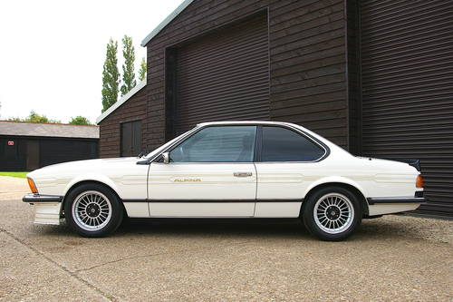 1984 Alpina E24 B9 3.5/1 Coupe Automatic LHD (51,553 miles) SOLD (picture 1 of 6)