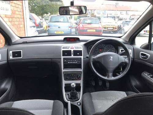 2006 Peugeot 307 1.6 HDi S Hatchback 5dr Diesel Manual SOLD (picture 6 of 6)