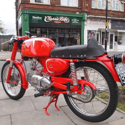 1965 Motobi 125 Sport Special, Show Condition. SOLD (picture 1 of 6)