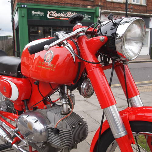 1965 Motobi 125 Sport Special, Show Condition. SOLD (picture 5 of 6)