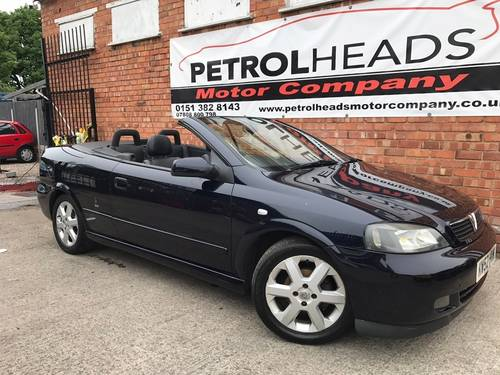 2003 Vauxhall Astra 1.6 i 16v Convertible SOLD (picture 1 of 6)