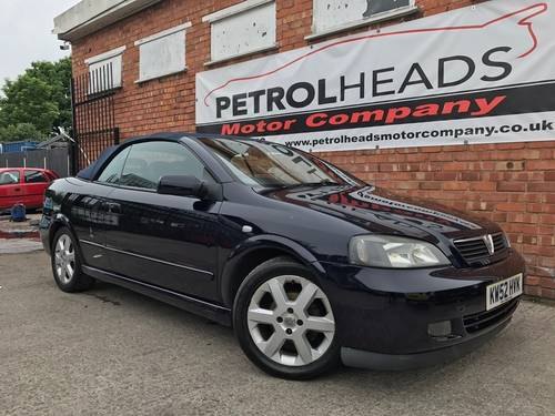 2003 Vauxhall Astra 1.6 i 16v Convertible SOLD (picture 2 of 6)