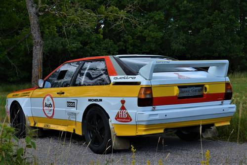 1981 Quattro Group B Rally A1 Recreation Sold Car And Classic