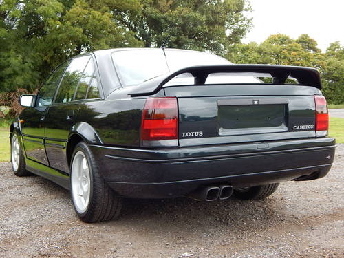 1991 Vauxhall Lotus Carlton - JUST 4,500 MILES! SOLD (picture 3 of 6)